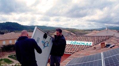 Installation solaire photovoltaïque Libow