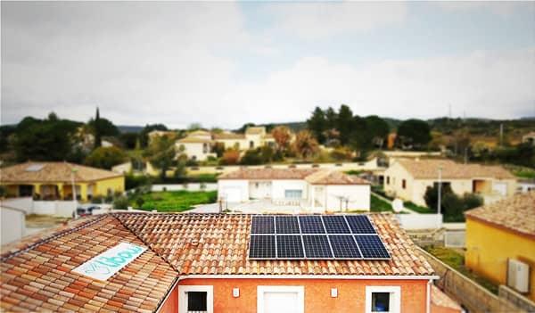 Installation solaire Libow près de Cessenon-sur-Orb