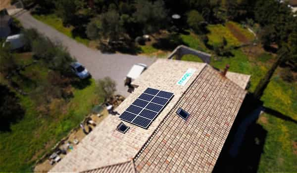 Installation solaire Libow près de Capestang
