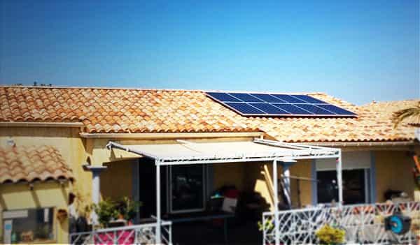 Installation solaire Libow près de Murviel-lès-Béziers