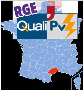 Installation solaire dans l'Hérault avec le label RGE
