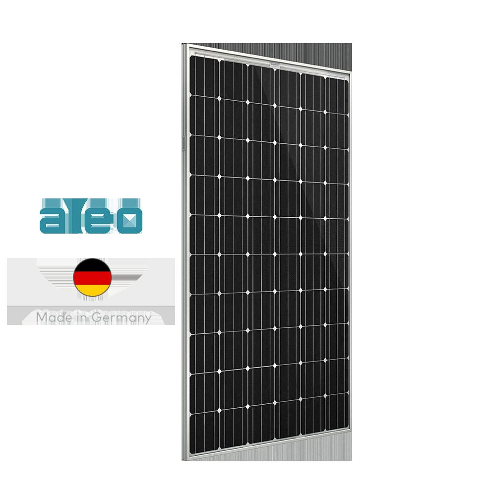 Panneau solaire haut de gamme allemand de la marque Aleo