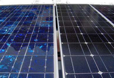 Comparaison entre panneau solaire polycristallin et monocristallin