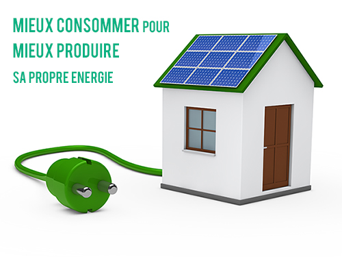 L'autoconsommation solaire pour sa maison par Libow