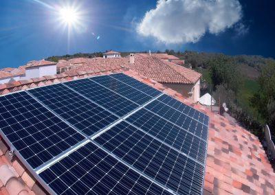 Installation photovoltaïque en autonomie partielle par l'installateur Libow