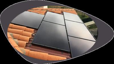 Installation Photovoltaïque Libow Intégration 2,68 kWc - janvier 2020 - 34570 PIGNAN - 8 pannneaux Q-CELLS et micro-onduleurs IQ7+