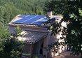 Installation solaire photovoltaïque terminée de 3 kWc sur une toiture de maison individuelle avec panneaux ALEO et micro-onduleurs Emphase chez un Particulier dans la ville d'Alzon. Cette installation a été réalisé par l'installateur Libow